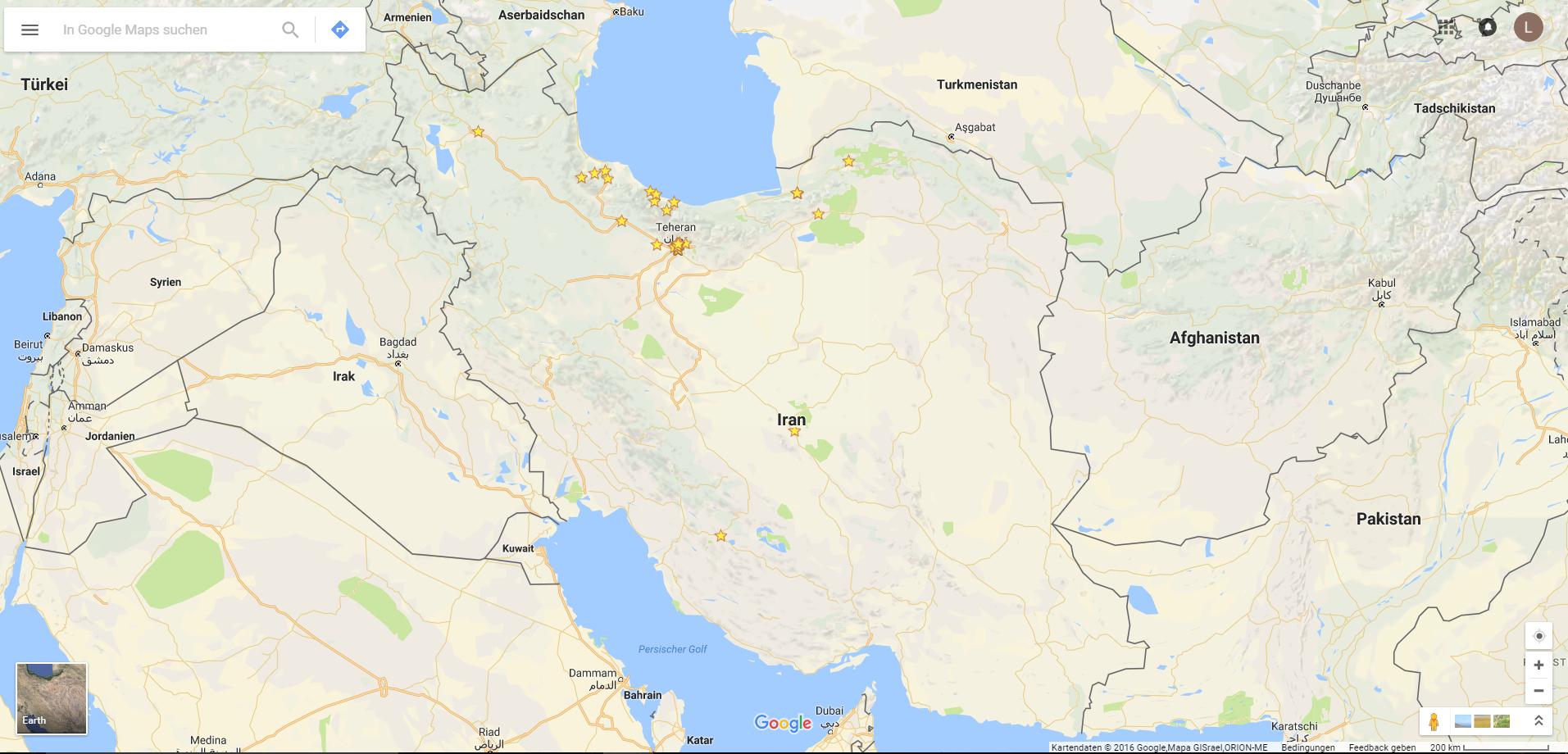 Iran Karte Google Maps Www Lenaspath Com